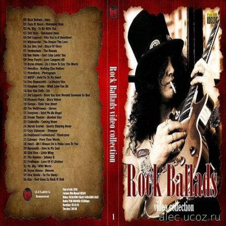 Rock Ballads Video Collection #1 (2020)